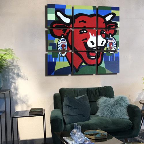 Création client : Heureuse comme la Vache qui rit