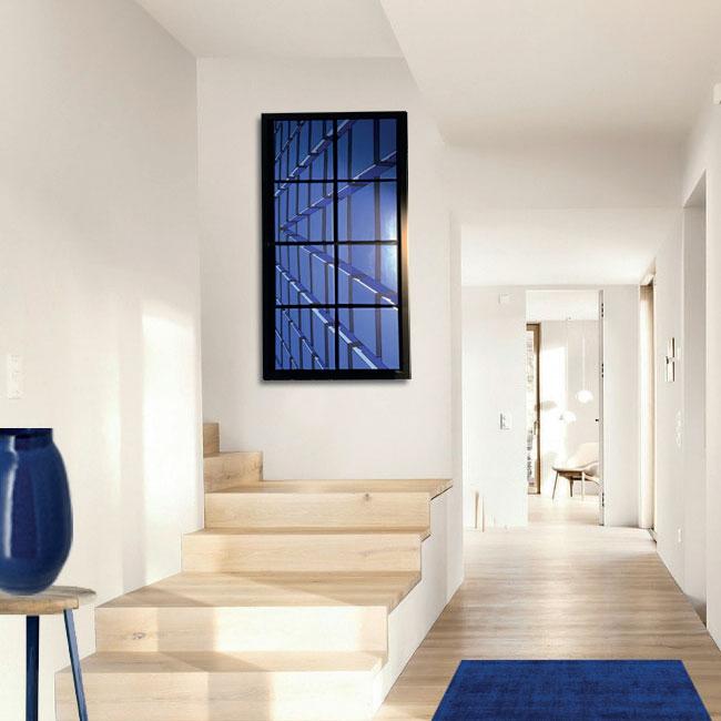 Création client : Bleu perspective