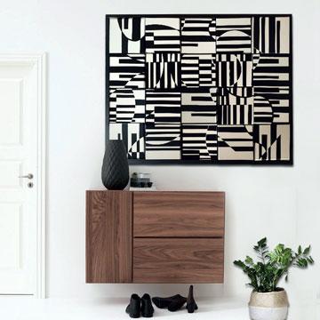 Création carrés modulables : Vasarely